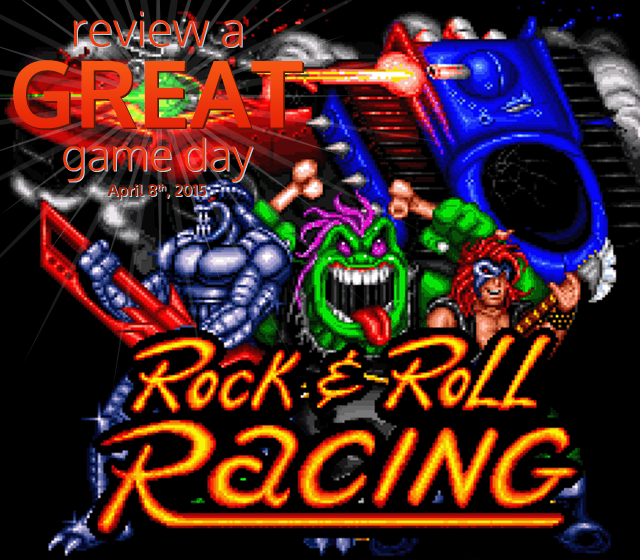 Review A Great Game Day 2015 – Rock 'n Roll Racing